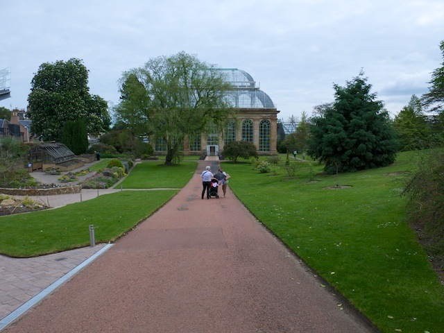 The Royal Botanic Gardens in Edinburgh has the tallest glasshouse in the world to accommodate the large tropical trees in their collection.